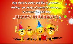 Birthday Ecards for Kids Fresh Birthday Cards Free Birthday Wishes Greeting Cards Spanish Birthday Wishes, Free Birthday Wishes, Birthday Wishes For Brother, Birthday Wishes Messages, Birthday Wishes And Images, Happy Birthday Pictures, Happy Birthday Funny, Happy Birthday Cards, Birthday Quotes