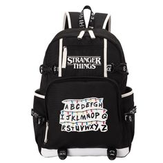 Buy Stranger Things School Backpacks types) at The Merch Point! The huge selection of cool items and merchandise with sales and free shiping worldwide! Stranger Things Merchandise, Stranger Things Netflix, Cute Cuts, Millie Bobby Brown, North Face Backpack, Women's Backpack, School Backpacks, School Bags, Stuff To Buy
