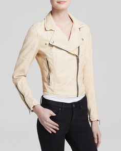BLANKNYC Jacket - Faux Leather Moto | Bloomingdale's