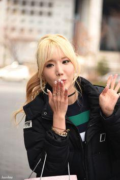 [16.03.12] 음악중심 팬미팅 | 포텐 4TEN Hyeji 혜지