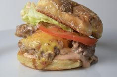 Double Double Animal Style In-N-Out Copy Cat Burger