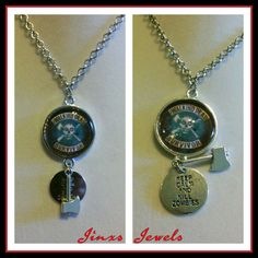 Check out this item in my Etsy shop https://www.etsy.com/listing/239337249/walking-dead-survivor-necklace