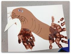 artic animals preschool | Winter Books, Crafts, Recipes and More for Preschool and Kindergarten