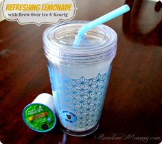 Delicious Iced Drinks with Brew Over Ice for Keurig #LoveBrewOverIce