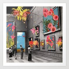 Natural History Museum Art Print by Eugenia Loli - $30.00