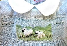 Wind and rain may come their way, these lambs still will frolic and play!  ~*~ Love this dress but dont have a little girl to buy for? They look