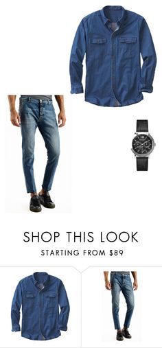 """""""Untitled #324"""" by arijana-cehic ❤ liked on Polyvore featuring TravelSmith, Versus, men's fashion and menswear"""