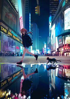 Anime Art Scenery – Full of Beauties Anime Backgrounds Wallpapers, Anime Scenery Wallpaper, Anime Artwork, Animes Wallpapers, Cute Wallpapers, Whats Wallpaper, Look Wallpaper, Kawaii Anime Girl, Anime Art Girl