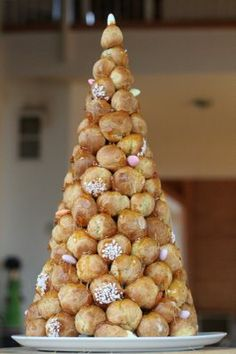 croquembouche!  i made one of these two christmases ago and it was a disaster!  i'm going to try it again this year!!!