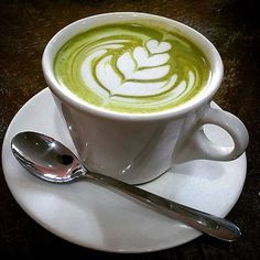 Love this Zen Green Tea matcha latte  .Perfect coffee replacement! Did you know matcha enhances concentration? Read more about why here: http://zengreentea.com.au/matcha-and-concentration/