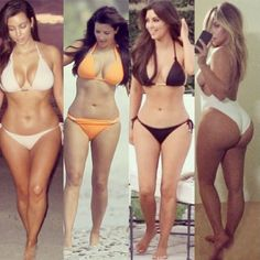 Kim Kardashian obsessed w/ her body... You may not like her personality but you can't deny her body is bomb!