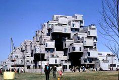 Moche Safdie, Habitat 67: Montreal's Prefab Pixel City