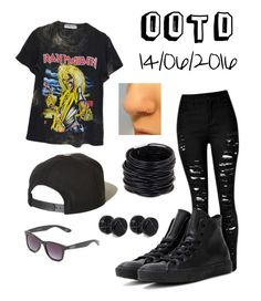 """""""Untitled #107"""" by cliffordsanna on Polyvore featuring High Heels Suicide, Brixton, Converse, Vans, ASOS and Saachi"""