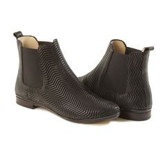 VERA Black Ankle Boots | Handcrafted in Italy