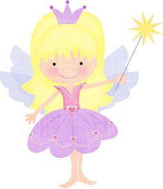 Dibujos de hadas infantiles-Imagenes y dibujos para imprimir