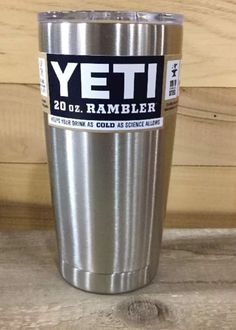 YETI 20 oz. Rambler Tumbler Cup New With Lid Free Shipping New LIMITED QUANITY #Yeti