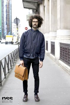 Florian Chamey - Streetstyle in Paris
