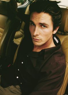 Christian Bale. He'll always be a singing newsboy to me, thanks to Camp Arrowhead!