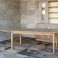 Farm Wood Dining Table