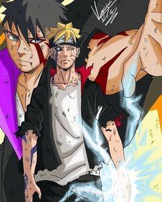 Anime Naruto, Sarada E Boruto, Naruto Fan Art, Naruto Sasuke Sakura, Naruto Shippuden Sasuke, Shikadai, Naruhina, Naruto Family, Boruto Naruto Next Generations