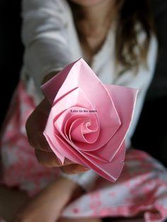 origami/ Lallie fée des contes