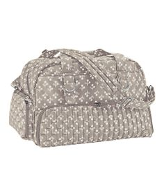 Sand Taupe Floral Paddle Boat Weekender by Lug #zulily #zulilyfinds