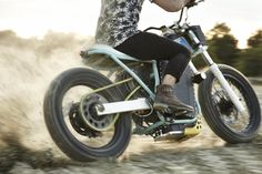 80Kw electric dirt track Machine by Jambon-Beurre Motorcycle