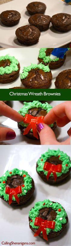 Christmas-brownies-pinterest