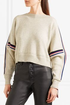 Isabel Marant Étoile | Kao striped knitted sweater | NET-A-PORTER.COM