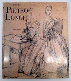 ANTIQUE BOOKS - $499.99 - Disegni Di Pietro Longhi Le Raccolte Dei Grandi Pittori Hardcover Book