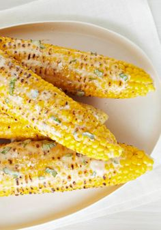 Cheesy Chipotle Corn on the Cob — Try something different the next time you serve corn on the cob. Spread it with chipotle-flavored mayo and add a sprinkle of shredded cheese.