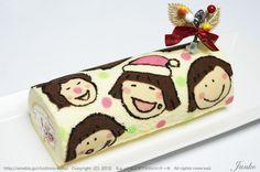 Is it chibi maruko-chan cake roll???