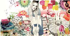 Mia Marie Overgaard, illustration now taschen