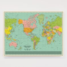 World Song Map - Classic Edition – Dorothy