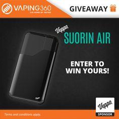 3 x Suorin Air Vaporizer Kit Giveaway