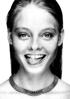 Jodie Foster 1980 for Interview Magazine