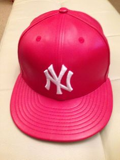 New Era New York Yankees Fitted Hat Cap RED//GOLD BADGE For foamposite 1 supreme