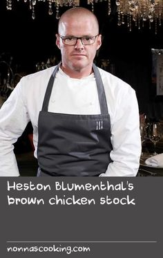Heston Blumenthal's brown chicken stock | Stock is the hidden hero in hundreds of recipes, so it's vital that it's packed with flavour. One way to boost the deep meaty flavours is to add milk powder to the chicken wings before cooking them. It may sound strange but the milk powder really boosts the Maillard reaction, which is what happens when the proteins and sugars in meat react to being roasted. The resulting stock tastes like the essence of pure roast chicken – you'll never look at a…