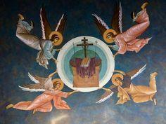 Byzantine Icons, Holy Cross, Orthodox Icons, Sacred Art, Archaeology, Christianity, Saints, Religion, Snow