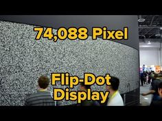 The Giant Flip-Dot Display at CES | Hackaday