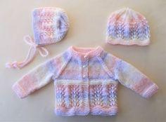 Marianna's Lazy Daisy Days: Wave of Light Baby Cardigan Jacket Source by Jacket Baby Knitting Free, Baby Cardigan Knitting Pattern Free, Baby Boy Knitting Patterns, Baby Sweater Patterns, Crochet Baby Cardigan, Knit Baby Sweaters, Baby Patterns, Booties Crochet, Crochet Patterns