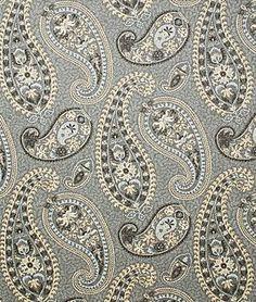 A DESIGNER COTTON CURTAIN FABRIC FOLKI CHARTRUESE 100/% Cotton CC70