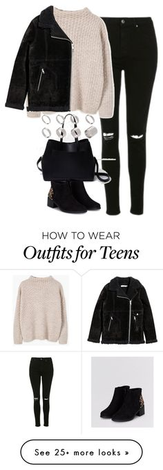 """Untitled #4433"" by keliseblog on Polyvore featuring Topshop, MANGO, H&M, River Island and ASOS"