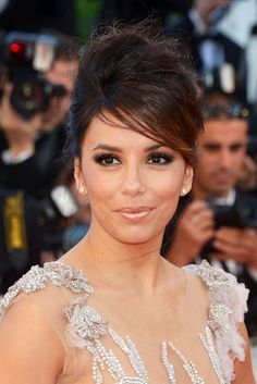Eva Longoria makeup & style at #Cannes Film Festival 2012