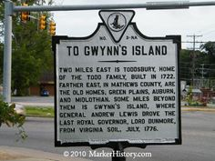 To Gwynn's Island The Todd, Virginia History, Beautiful Places To Live, Castle House, Chesapeake Bay, Island Life, Southern Style, Old Houses, Genealogy