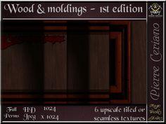 Wood & moldings 1st Edition