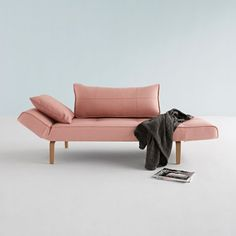 Zeal Folding Sofa - Pink - by Innovation Living Denmark #MONOQI