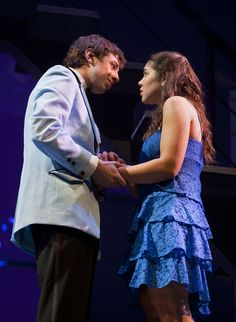 "Andrea Ross and AJ Holmes as Natalie and Henry in ""Next To Normal"" at Arizona Theatre Company."