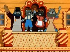 Кошкин дом - Cat house - a russian cartoon Russian Cartoons, Alice Cosplay, Alice Madness, Childrens Books, Fairy Tales, Illustration Art, Childhood, Family Guy, Sketches