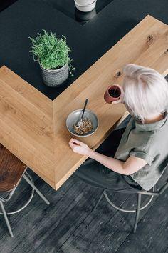 Led Spots, Kitchen Sets, Küchen Design, Inspiration, Inspired, Kitchen, Coffee Mornings, Kitchen Wood, Kitchen Contemporary